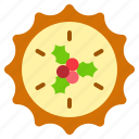 christmas, dessert, pie, sweets icon