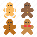 biscuit, christmas, cookies, gingerbread, sweets