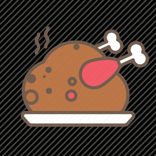 Chicken, food, meat, turkey icon - Download on Iconfinder