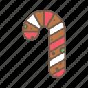 christmas, cookie, food, xmas icon