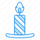 candle, celebrate, christmas, light, party, winter, xmas icon