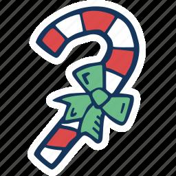 candy, candy cane, cane, christmas, christmas tree, decoration, holidays icon
