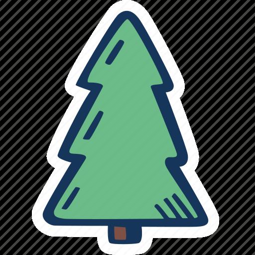 christmas, christmas tree, holiday, holidays, trees, winter icon