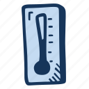 cold, scale, snow, temperature, thermometer, winter icon