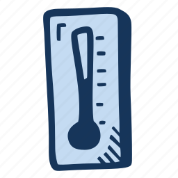 cold, scale, snow, temperature, thermometer, winter icon