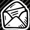 christmas, envelope, gift, holidays, invitation, message, present icon