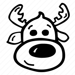 celebration, christmas, holiday, holidays, reindeer, winter icon