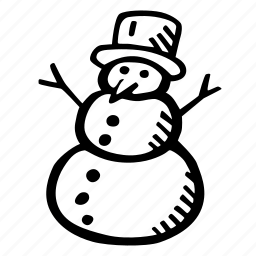 christmas, holiday, holidays, snow, snowman, winter icon