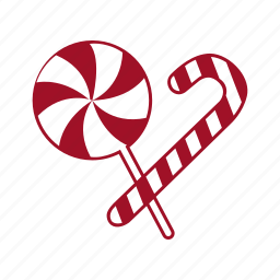 candy, cane, christmas, santa, sugar, sweet, xmas icon