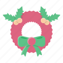 decoration, gift, christmas, new, year, holiday, wreaths icon