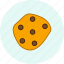 carnival, christmas, cookie, event, festive, party icon
