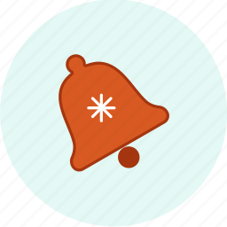bell, carnival, christmas, event, festive, ornament, party icon