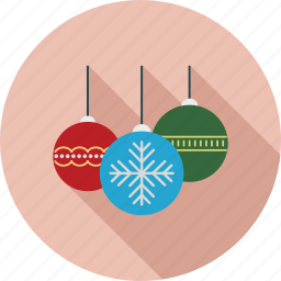 balls, christmas icon, decoration, ornaments icon