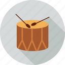 christmas, drum icon