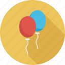 balloon, christmas, party icon