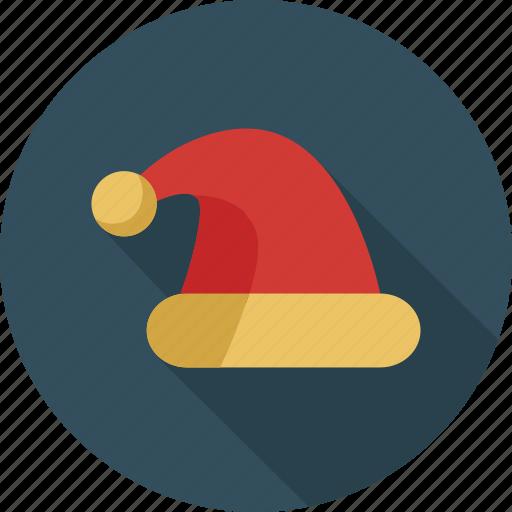 cap, christmas, hat, santa icon