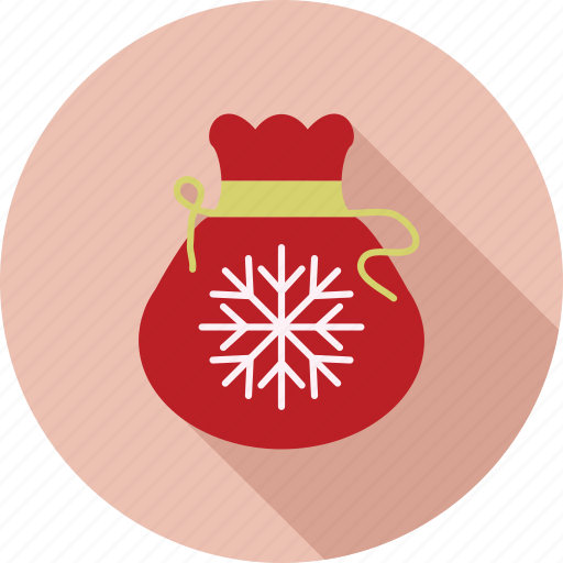bag, christmas, christmas icon, santa icon