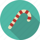 candy, cane, christmas, decoration, sweeets icon