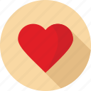 christmas, heart, love icon
