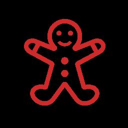 christmas, gingerbread, gingerbread-man, lebkuchenmann, man, weihnachten, x-mas icon
