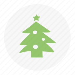 christmas, christmas tree, tree, winter icon