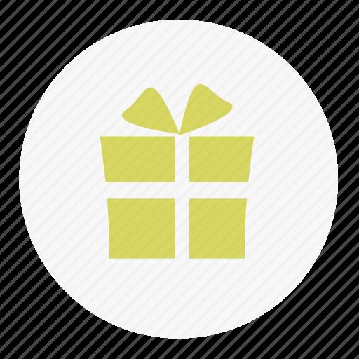 christmas, gift, snow, winter icon