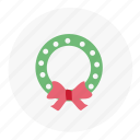 christmas, mistletoe, snow, winter icon