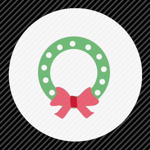 christmas, mistletoe, snow, winter icon