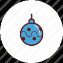 bauble, christmas, decoration