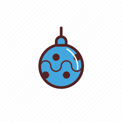 bauble, christmas, decoration icon