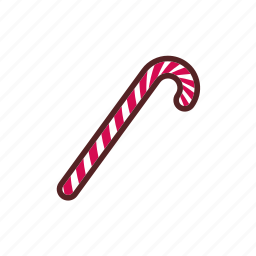 candy, christmas, decoration, stick icon