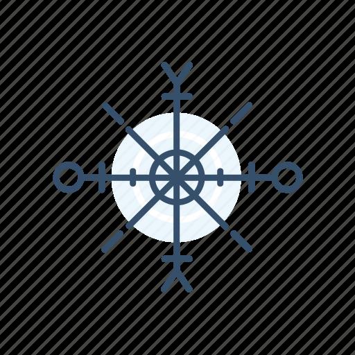 christmas, new year, snow, snowflake icon