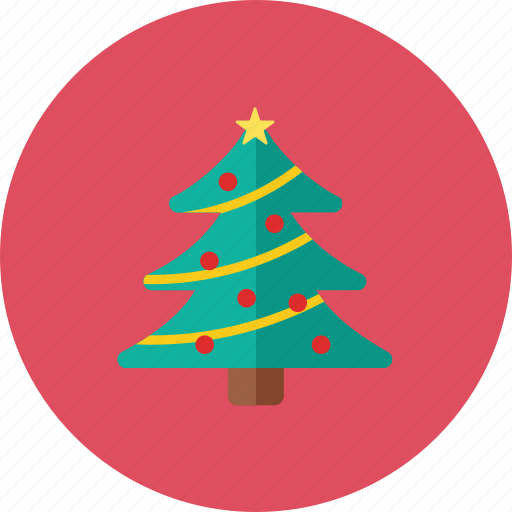 christmas, tree icon