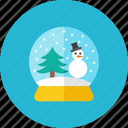 globe, snow icon