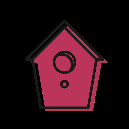 birdhouse, christmas, christmastime, cold, house, snow icon