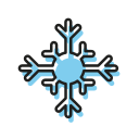 christmas, christmastime, cold, frost, ice, snow, snowflake icon