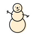 christmas, cold, frost, fun, holiday, snow, snowman icon