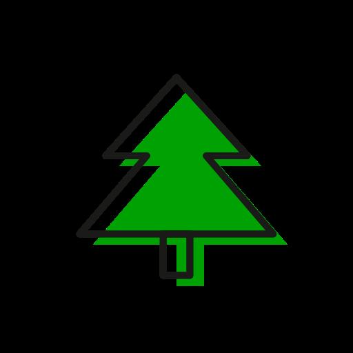 Christmas, christmastime, freebie, holidays, present, snowflake, tree icon - Free download