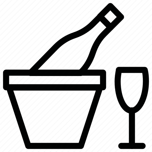 Bottle, drink, glass, wine icon - Download on Iconfinder