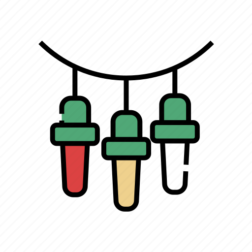 Bulb, christmas, decoration, light decoration, new year, xmas icon - Download on Iconfinder