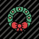 winter, wreath, christmas, decoration, christmas wreath, xmas