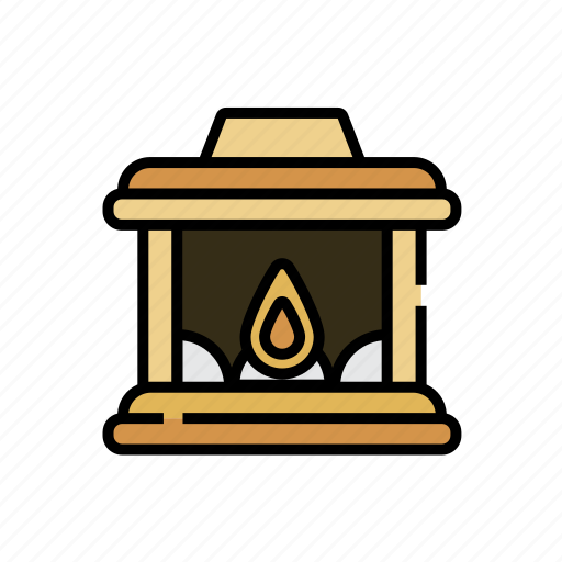 Chimney, christmas, fire, fireplace, warm, winter, xmas icon - Download on Iconfinder