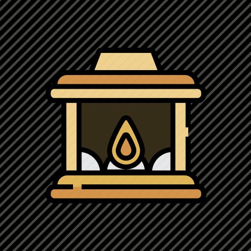 chimney, christmas, fire, fireplace, warm, winter, xmas icon