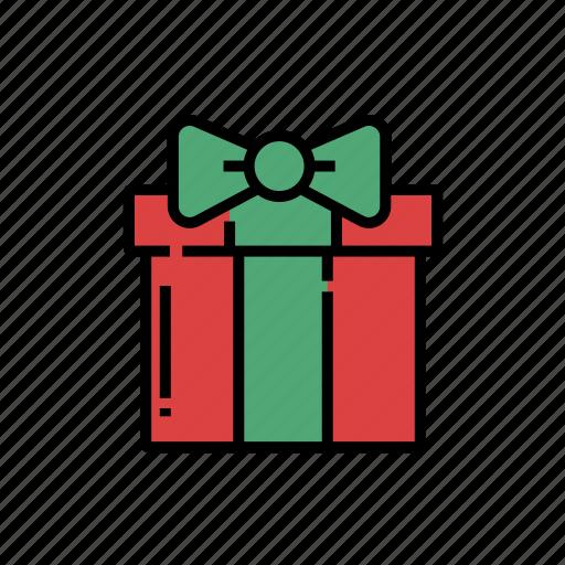 christmas, christmas gift, gift, gift box, gifts, present, xmas icon
