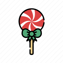candy, christmas, lollipop, sweets, xmas icon