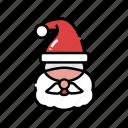 character, christmas, christmas father, santa, santa claus, xmas icon