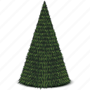 christmas, new year, tree icon