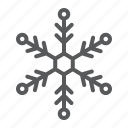 cold, frost, snow, snowflake, weather, winter, xmas icon
