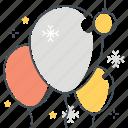 ballon, celebration, christmas, decorative, holiday, new year, ornament icon