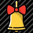 bell, decoration, holiday, xmas icon